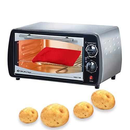 Patate Microonde Patate Pouch, Microonde Patate Bag, Sacco cuoci patate per microonde, Microonde Patata Fornello Borsa, Patate perfette Solo in 4 minuti – (Rosso) 7