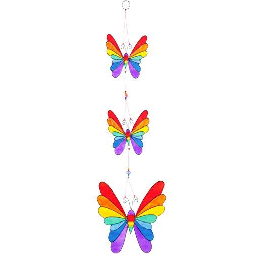 Jones Home and Gift Stringa di Arcobaleno Farfalle acchiappasole