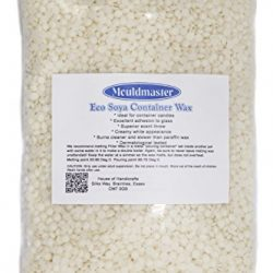 Mouldmaster Soy Container Candle Wax Pellets 2kg, Colore: Panna/Bianco Sporco 2