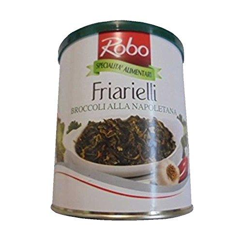 Broccoletti Neri Calabresi in olio extra vergine di oliva – 290g