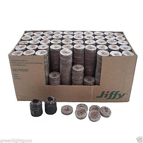SimpleLife Jiffy Peat Pellets Seed Starting Plugs Pallet Seedling Soil Block ORP
