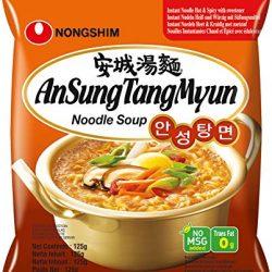 Nong Shim Noodles Ansungtangmyun – Pacco da 20 x 130 g