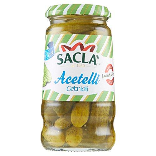 Saclà – Acetelli, Cetrioli – 6 pezzi da 290 g [1740 g]