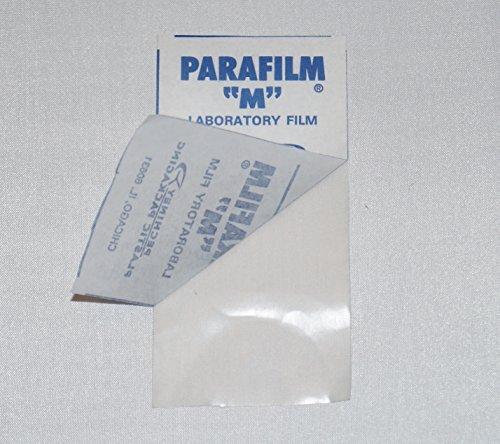 Silkfactory – Parafilm, pellicola di chiusura extralarge 10 x 5 cm per sigillare, incollare, isolare diversi tipi di bottiglie o contenitori, 5 metri 7
