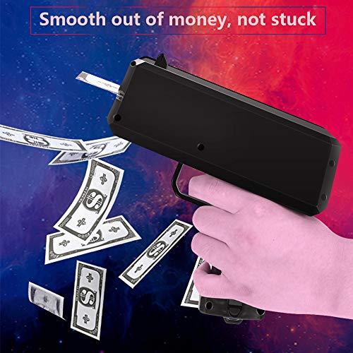 CestMall Pistola di Soldi del Denaro del Denaro Giocattolo di Modo dei Giocattoli di Natale Rosso 100 Cash 5