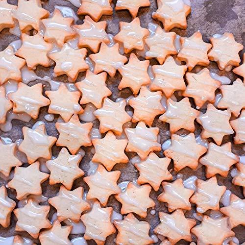 KAISHANE Formine per Biscotti 12 Pezzi (Stella Cuore Cerchio Fiore) Acciaio Inossidabile Stampi per Biscotti Cuore per Creare Biscotti,Tortine,Pasticcini e Glasse 7