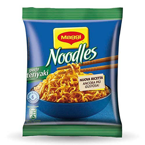 Maggi Noodles Gusto Teriyaki Istantanei e Condimento al Gusto Teriyaki – 71 g
