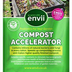 Envii Compost Accelerator – Acceleratore Compostaggio Organico – 12 Pastiglie