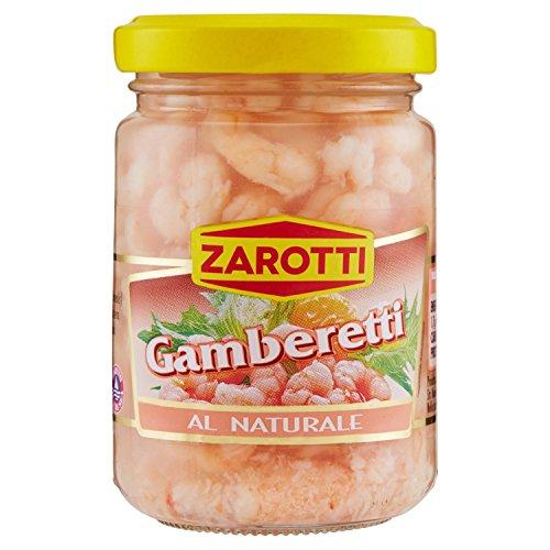 Zarotti – Gamberetti, al Naturale – 4 pezzi da 140 g [560 g]