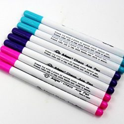 Chengyida 9- Pack (3colori) auto Vanishing Pen Disappearing Ink Pen aria cancellabile penna inchiostro invisibile Adber Chako Ace Dressmakers Marker Pen