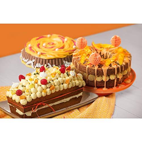 "Kaiser 2300754697 – Set per dolci ""Gourmet"", 4 pezzi 7"