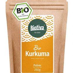 Polvere di curcuma (1kg), curcuma 100% naturale, radice di curcuma delicatamente essiccata e macinata, ovviamente senza additivi, vegana