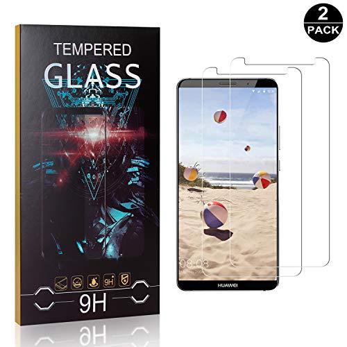 Bear Village® Huawei Mate 10 Pro Vetro Temperato, 0.26mm HD Pellicola Protettiva in Vetro Temperato per Huawei Mate 10 Pro, Facile da Pulire, 3D Touch, 2 Pezzi