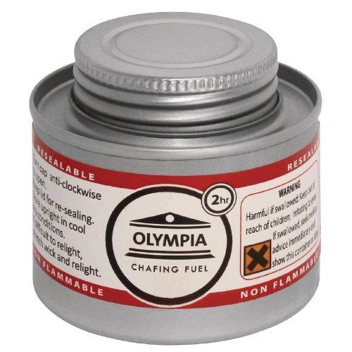 Olympia CB733sfregamento carburante liquido, 2ora, argento (confezione da 12)