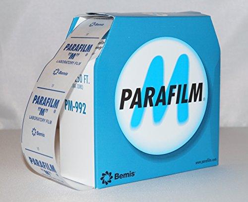 Silkfactory – Parafilm, pellicola di chiusura extralarge 10 x 5 cm per sigillare, incollare, isolare diversi tipi di bottiglie o contenitori, 50 pezzi 5