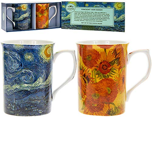 Portmeirion Home & Gifts Set di 4 Tazze