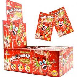 Gelco Ciuccio Frizz Caramelle Gommose Frizzanti, Gusto Frutti Assortiti, 150 Monopezzi, Ottimo per Feste per Bambini
