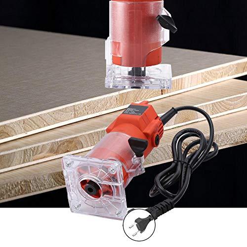 Trimmer per router elettrico, intaglio del legno Trimmer per legno elettrico con incisione Trimmer elettrico con 15 punte per router Tritacarne elettrico Trimmer per legno elettrico(#1) 3