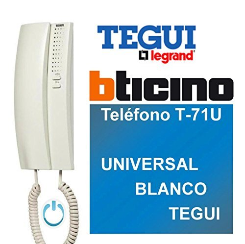 Legrand / Bticino T-71U Telefono Universale, Bianco