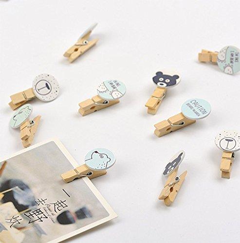 LIOOBO Scatola portaoggetti da Tavolo in Legno Scatola Porta-Carte da Messaggio in Legno Scatola Porta Documenti per casa Ufficio (Giallo Chiaro)