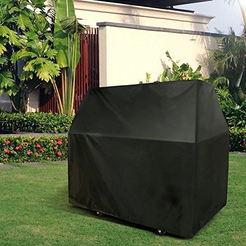 Tvird Copertura Barbecue Impermeabile,Telo Copri Barbecue Protettivo per BBQ 300D Tessuto Oxford Cover per Barbecue Resistente Impermeabile/Anti Pioggia/Polvere/Sole/Neve 145 * 61 * 117cm