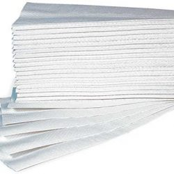 Asciugamani Carta Monouso Per Dispenser – Piegati a Z – Microgoffrato – Pura Cellulosa Interfoil – N. 25 Conf. da 150 pz 2
