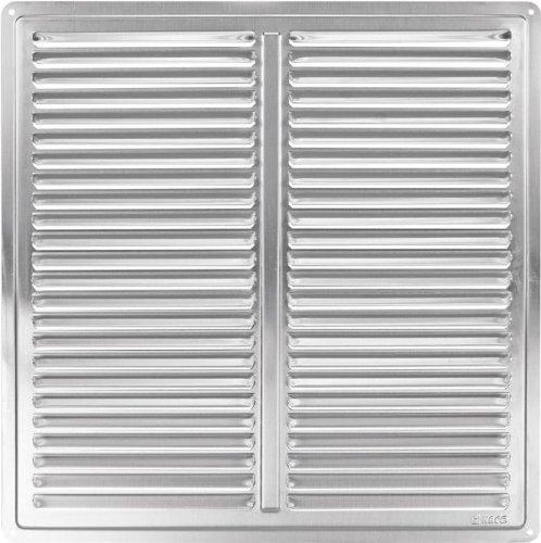 in acciaio inox griglia ventilazione copertura 300×300 della griglia di aerazione 2