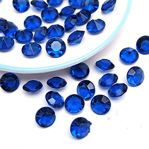 Trimming Shop 2.5mm Piccolo Diamante Acrilico Tavolo Decorativo, Coriandoli Cristalli per Matrimonio, Doccia e Compleanno Festa Decorazione 4000 Pz.