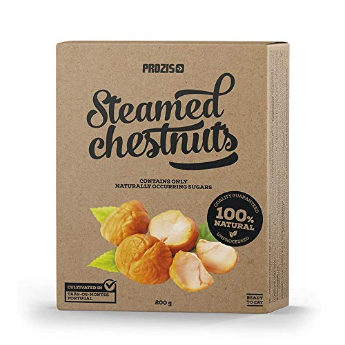 Prozis Steamed Chestnuts Natural, 200 g 2