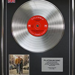 BOB DYLAN/LTD Edizione CD platinum disc/THE FREEWHEELIN' 2