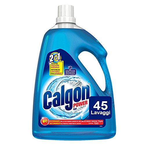 Calgon Gel 2 in 1 Anticalcare, 2.25 Litri, 45 Lavaggi