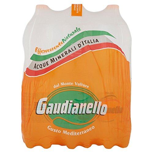Sant'Anna – Blister d'Acqua Minerale Frizzante – Confezione da 6 Bottiglie di Plastica Ciascuna da 1 litro