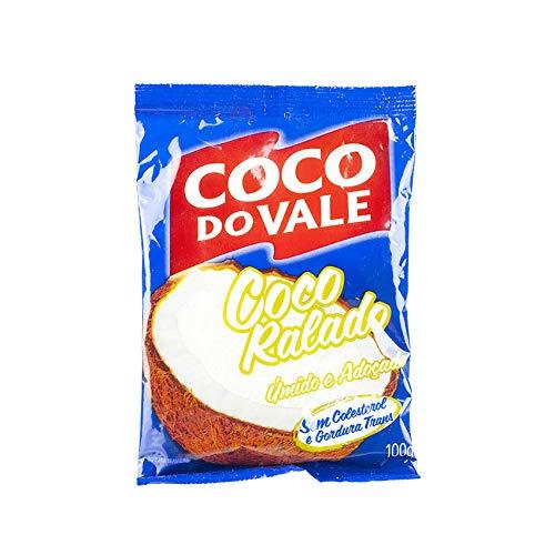 Cocco grattugiato zuccherato, confezione da 100g. – Coco Ralado Adoçado COCO DO VALE 100g
