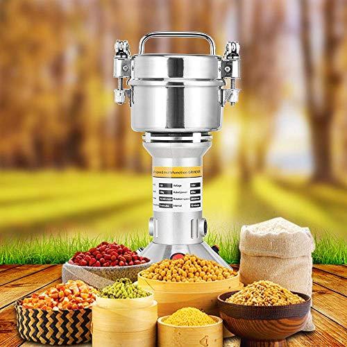 S SMAUTOP Grinder Grinder Elettrico 500g Acciaio per Uso Alimentare per la Macchina della Polvere del macinapepe del Pepe della Spezia dell'erba della Cucina (500g) 8