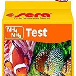 Sera 04910 NH4/NH3 Test 15 ml – Test di ammonio/ammoniaca per Circa 60 misurazioni, Misura in Modo affidabile ed esatto Il Contenuto NH3/NH4, per Acqua Dolce e salata, Acquario o laghetto.