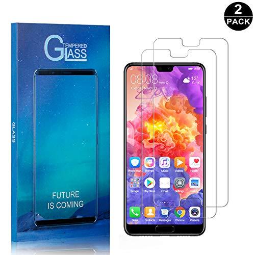 Bear Village® Huawei P20 Pro Vetro Temperato, Nessuna Bolla, 9H Durezza, 3D Touch Compatible Pellicola Protettiva in Vetro Temperato per Huawei P20 Pro, 2 Pezzi 2