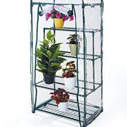 VERDELOOK Telo di ricambio per serra in PVC trasparente, per articoli cod: 647/2 – 647/3, altezza 157 cm larghezza 69×49 cm