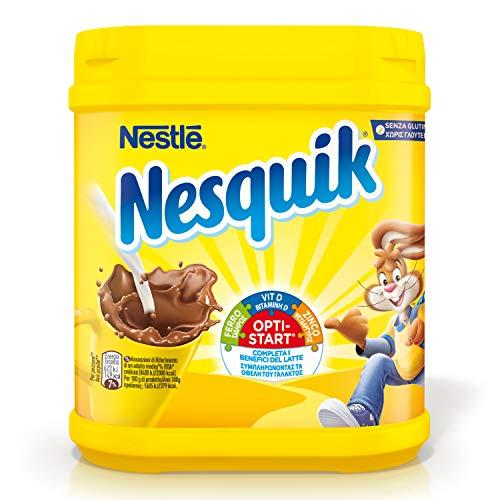 Nesquik Opti-Start Cacao Solubile per Latte Barattolo, 1 kg