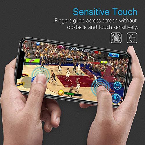 Galaxy A7 2018 Pellicola Vetro Temperato, NBKASE HD 9H Durezza Alta Trasparente Protezione Schermo, Vetro Temprato Premium per Samsung Galaxy A7 2018, Anti Graffio, 2 Pezzi 7