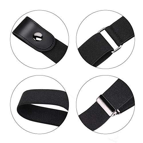 Womdee Cintura Donna Elastica Senza Fibbia – Cintura Elastica Invisibile (40 Pollici Regolabile), più Salute per La Vita Cintura Elastica Invisibile Senza Fibbia per Qualsiasi Taglia 3
