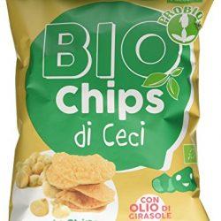Probios Chips di Ceci – Confezione da 12 x 40 g