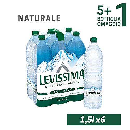 LEVISSIMA, Acqua Minerale Naturale Oligominerale 50cl x 6