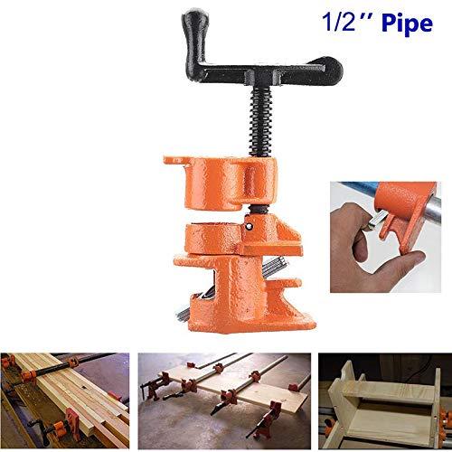 """Domeilleur, Morsetto resistente in ghisa, per tubi e lavori di falegnameria, 1/2"""" o 3/4"""", 1/2Inch 2"""