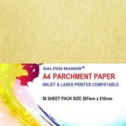 Confezione da 50fogli A4di carta pergamena da 90gr/m2, certificato di alta qualità 2