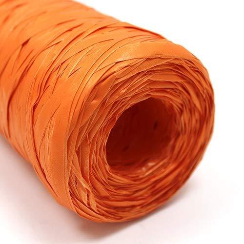 AW Rotolo, rafia sintetica, arancione, 200m 2