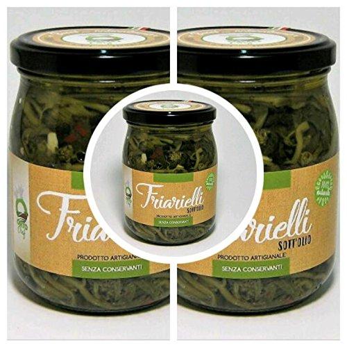 Friarielli Broccoli alla Napoletana in Olio Pacco 8 X 210 gr 2
