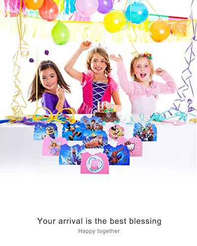 Relaxdays Set da 3 Pezzi con Pignatta Numero 6, Benda e Bastone, per Feste di Compleanno, per Adulti e Bambini, da Riempire, Colorato 3