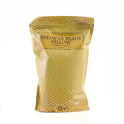 Perline di cera d'api non raffinate, 1 kg