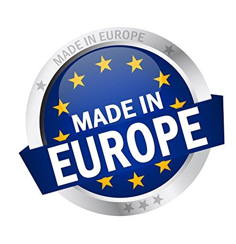 Vizaro – COPRIPIUMINO + Federa Cuscino lettino 70x140cm – 100% COTONE – Alta qualità made in EU senza sostanze nocive – Mis – 100x135cm, 30x60cm -C. Linee E Puntini 6