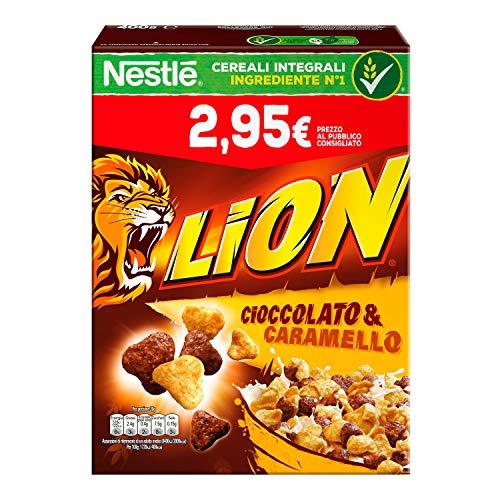 Kellogg's  Krave Cereali al Cioccolato, Vitamine B, Ferro – 375 gr